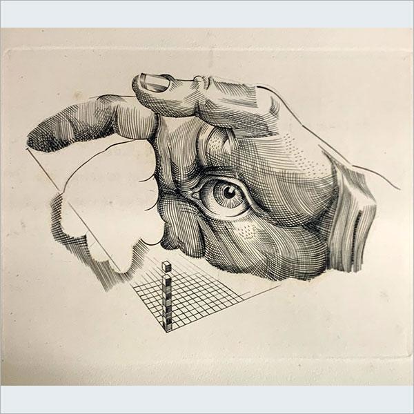 (仏)展望 Perspectives. Poèmes sur des gravures de Albert Flocon.