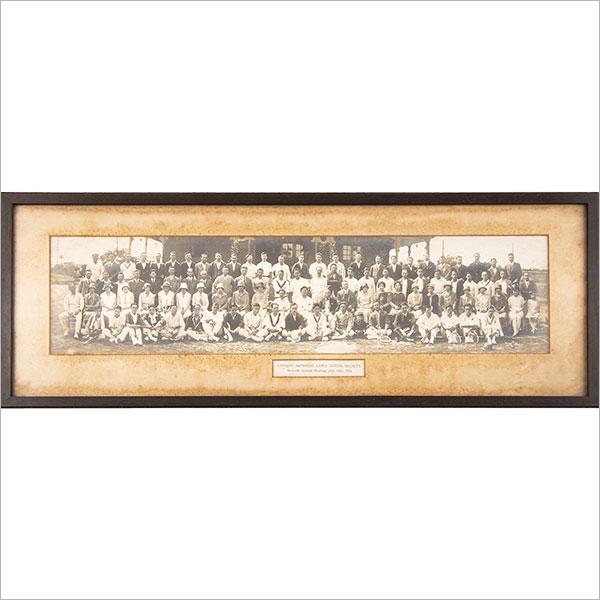 ロンドン日本人会ローンテニス倶楽部7周年記念集合写真 1926年